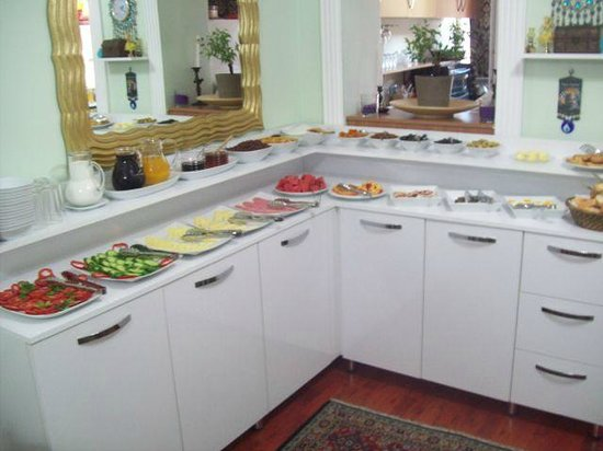 Modern Sultan Hotel : Their typical breakfast buffet