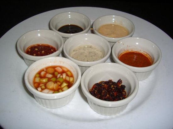 Cyprus : Chicken dipping sauces