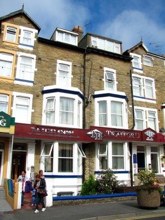 The Trafford Hotel: Two entrances to Trafford Hotel