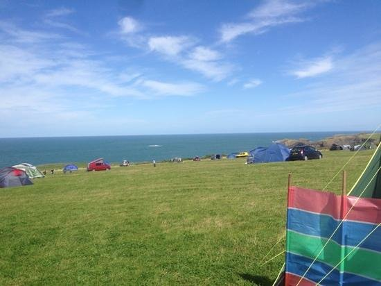 Celtic Camping: what a view