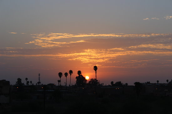 Sunset from the Dar Sholmes Riad