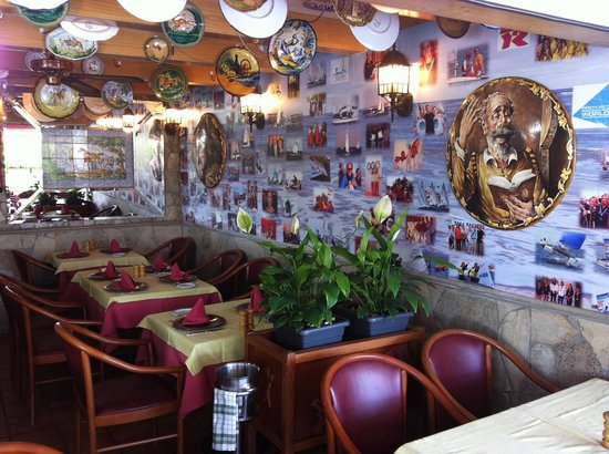 Restaurante Don Quijote : Dentro / inside