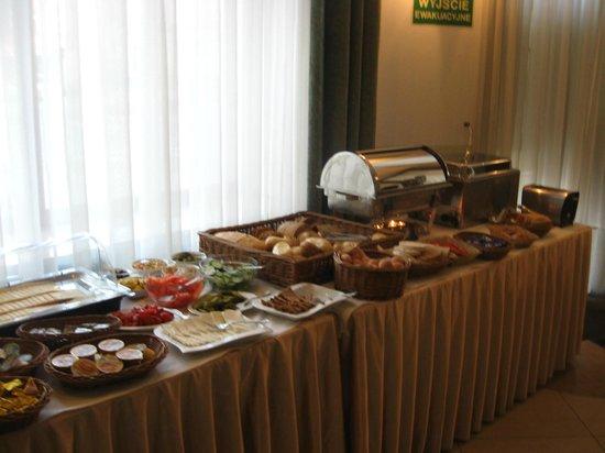 Hotel Matejko : colazione