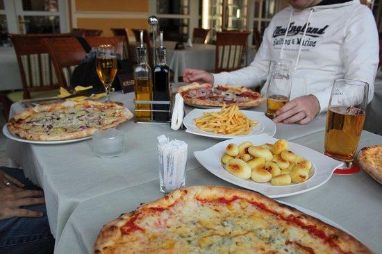Ristorante Pizzeria Venezia: Tasty pizzas