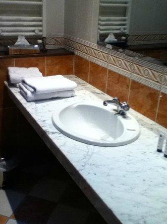 Seven Oaks Hotel: Vanity unit