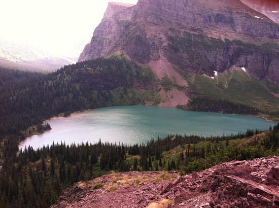 Glacier National Park Campgrounds: Our pinic spot