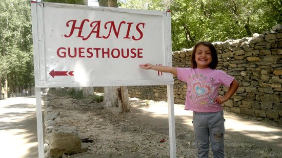 ‪‪Hanis Guesthouse‬: Sign‬