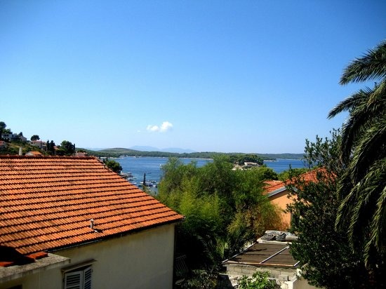 Villa Skansi : Our view from the room/ balcony