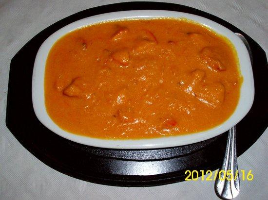 Taj Mahal Indian Restaurant: butter chicken  muuuaaaa  so good