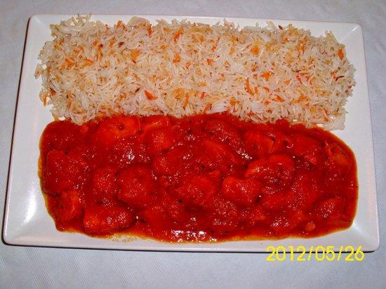 Taj Mahal Indian Restaurant: chicken tikka masala  muuuaa