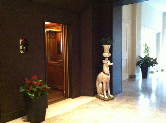 Sina Villa Medici: Лифт