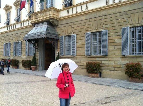 Sina Villa Medici: Под зонтом Medici