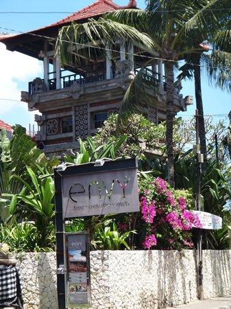 ENVY Bali : Envy restaurant sign