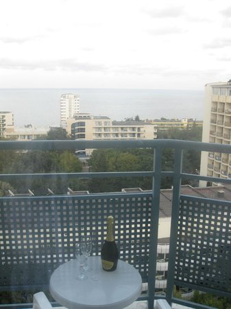 Hotel Royal: Вид на море