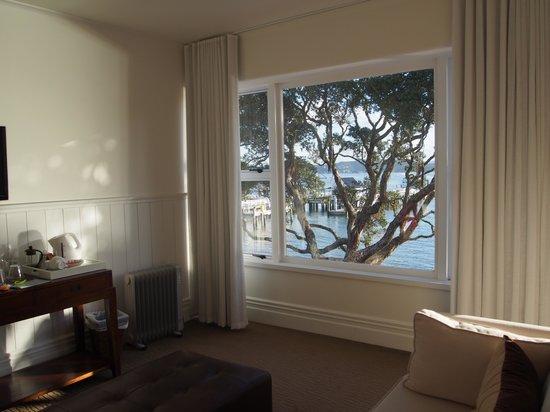 Duke of Marlborough Hotel: View to the waterfront