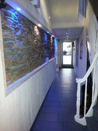 La Tour de Castel-Vielh: couloir