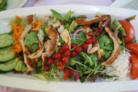 Da Capo Ristorante Pizzeria: puten salat