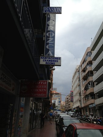 Pension La Orozca: Street view