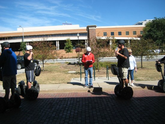 Quad Cities Visitor Center: QC Visitor Center, S. Harrison St. - Segway Tour