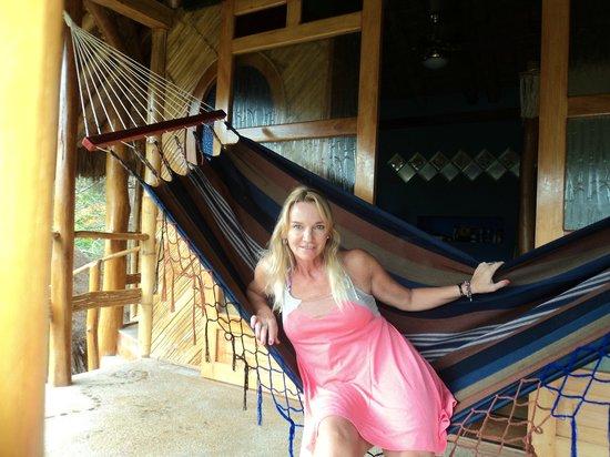 Balsa Surf Camp: Balcon de la habitacion