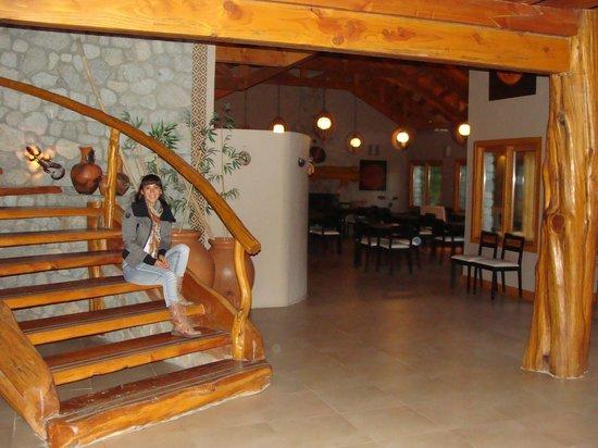 Ona Apart Hotel & Spa : esperando el desayuno