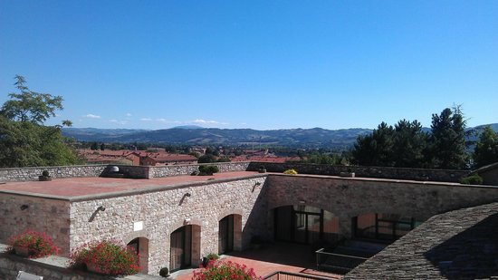 Park Hotel Ai Cappuccini: Rooftop view