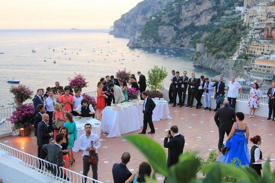 Hotel Marincanto: terrazza rossa
