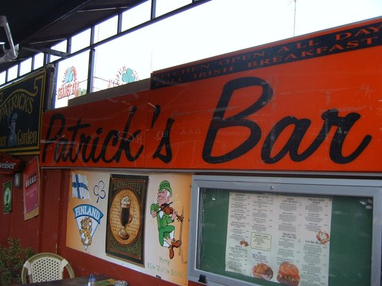 Jardin del Atlantico: patrick's irish bar