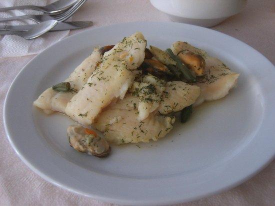 Jardin del Atlantico : la cena pescado