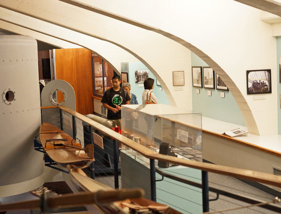 Santa Barbara Maritime Museum: Viewing temporary London exhibit