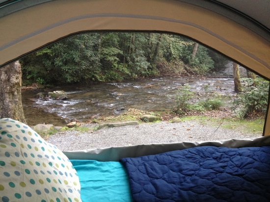 Indian Creek Campground : Room with a view