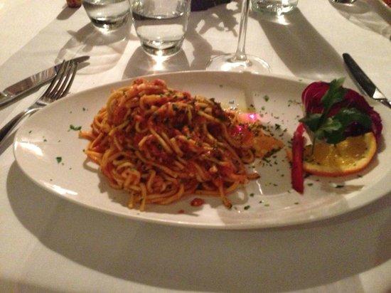 Crab pasta picture of la cucina del garga florence - La cucina del garga ...