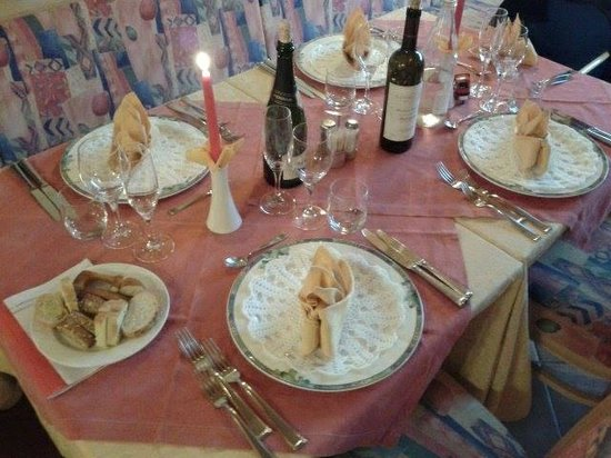 Alpenhotel Panorama: cena romantica del giovedì sera