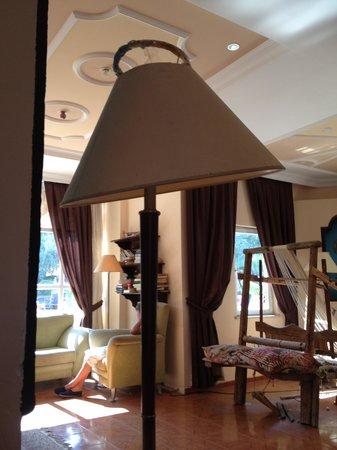 Balkaya Hotel : Lounge area
