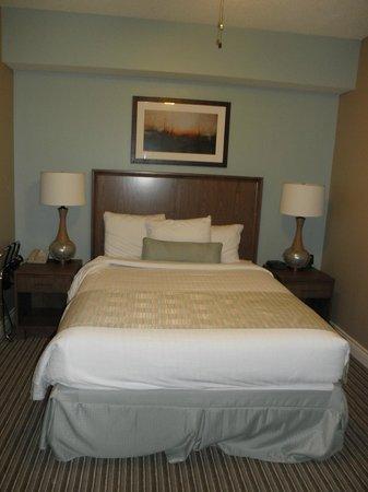 Holiday Inn Club Vacations Galveston Beach Resort: Queen size bedroom