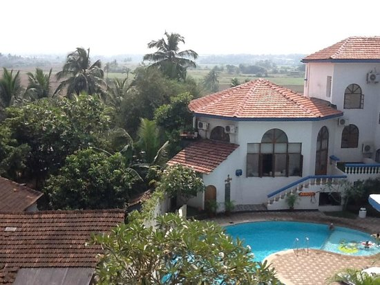 Royal Monterio: View of the resort from the balcony