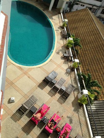 Sandy Spring Hotel: Pool