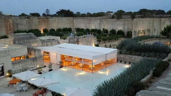 Cave Bianche Hotel: H.cave bianche,panoramic view...