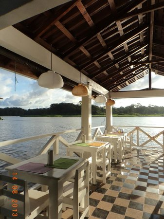 Budda Cafe: Hermosa terraza