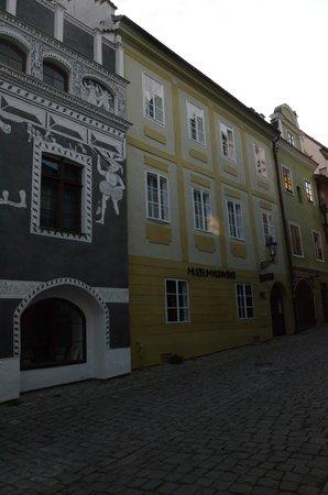 Residence Muzeum Vltavinu: A view from Panska street