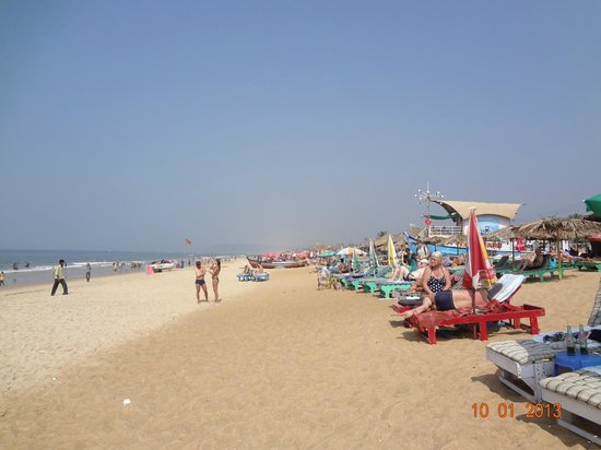 Hotel Goan Heritage: The beach outside The Goan Heritage hotel