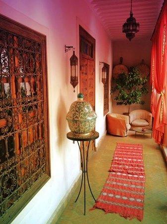 Riad Cannelle: Entrada a la habitación