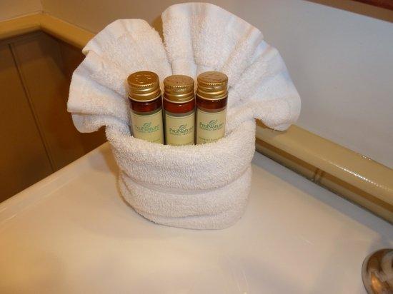 Cosmopolitan Hotel: toiletries