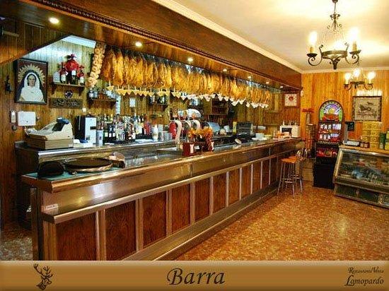 Venta Lomopardo: Barra