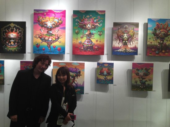 AFA Gallery: Yoko d'Hobachie at her opening reception