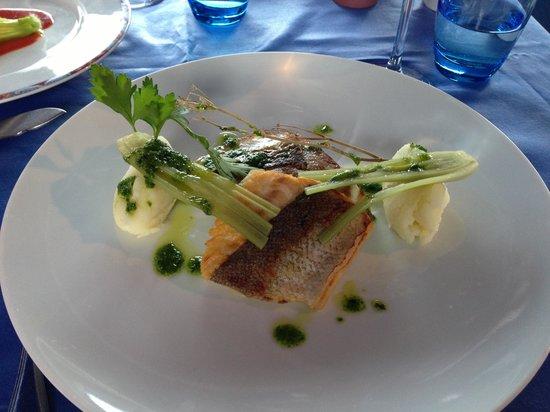 Le Sloop : Sea bass