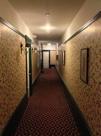 White Swan Inn: corridoio