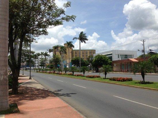 Hilton Princess Managua: Hotel Nicaragua, nice but not very safe outside