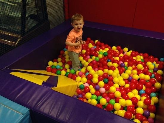Funways: playing in the ball pit