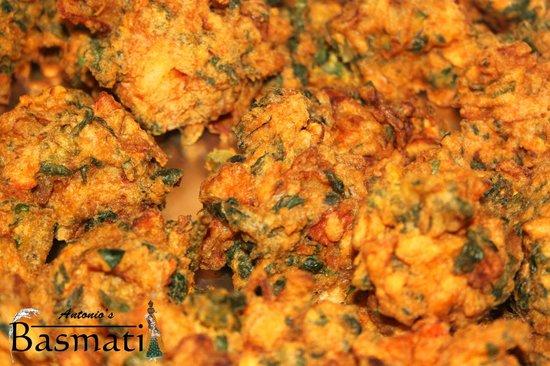 Antonio's Basmati: Crispy Pakoras
